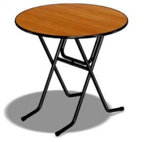 Стол круглый «для кафе»